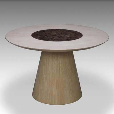 Retro Round Marble Dining Table Only
