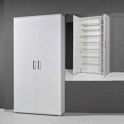 Scarpa White High Gloss Shoe Cupboard