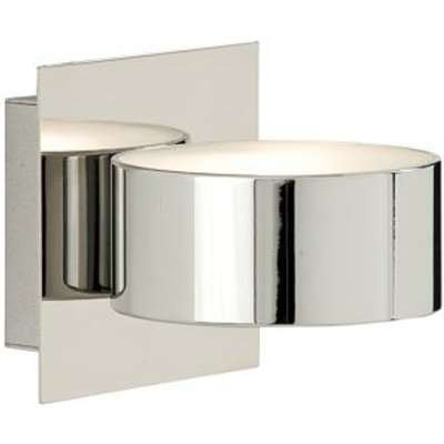 Uplighter and Downlighter Modern Wall Light Finished In Chrome