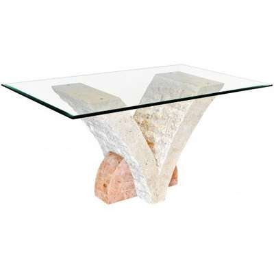 Uranie Stone Dining Table