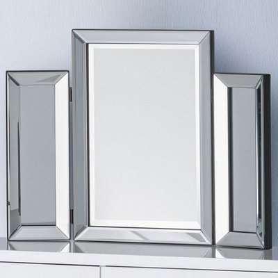 Zeus Modern Folding Dressing Table Mirror