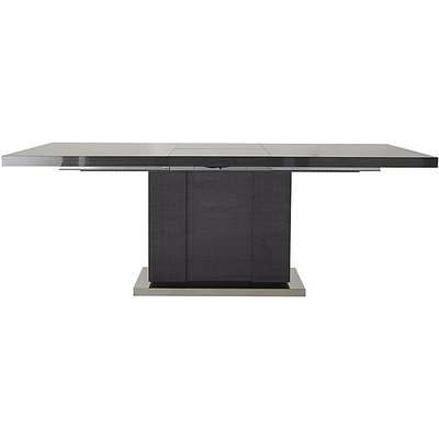 ALF - St Moritz Large Extending Dining Table - Grey