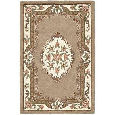 Bloom Wool Rug - 120cm-x-180cm - Beige