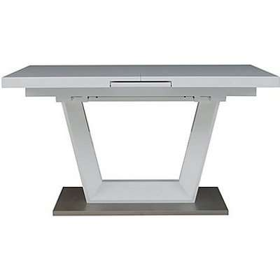 Bianco Small Extending Dining Table - White