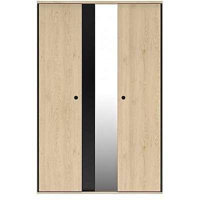Carter Large 2 Door with Mirror Wardrobe