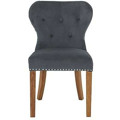 Chennai Upholstered Dining Chair - Grey