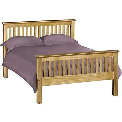 Chilton Pine High End Bed Frame - Double - Brown