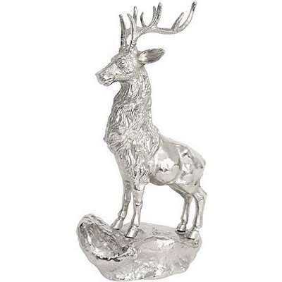 Culinary Concepts - Majestic Stag Ornament - Silver