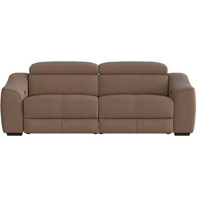 Elixir 3 Seater Fabric Power Recliner Sofa