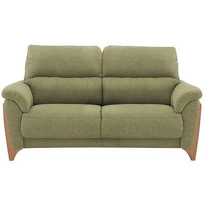 Ercol - Enna Medium Fabric Sofa - Green