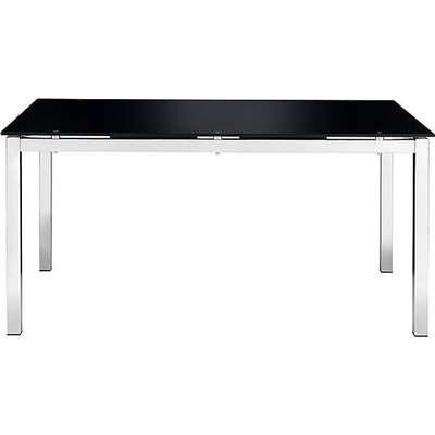 Eris Glass Dining Table - Black