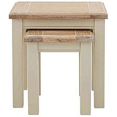 Furnitureland - Angeles Nest of Tables - Cream