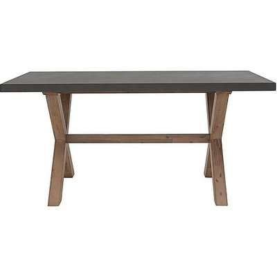 Fusion Small Dining Table - Black