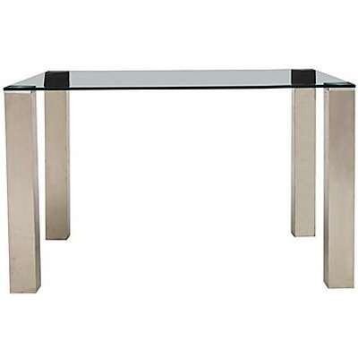 Ideas Dining Table with Black Tabletop - 120-cm