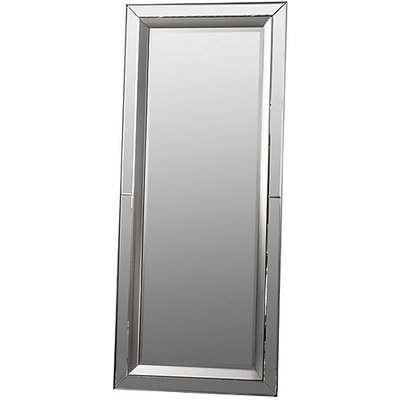 Madrid Leaner Mirror - Silver