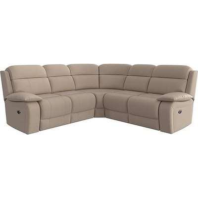 Moreno SD Ultra Soft Fabric Manual Recliner Sofa