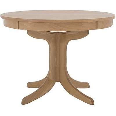 Nathan - Shades Circular Pedestal Dining Table - Brown