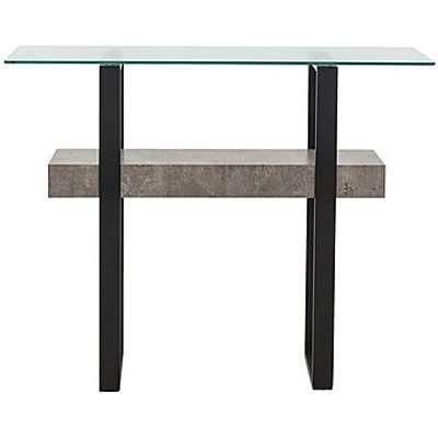 Odense Console Table - Black