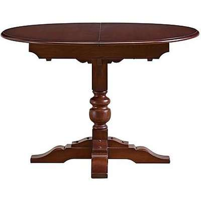 Old Charm Aldeburgh Oval Extending Dining Table - Brown