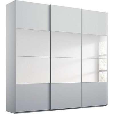 Rauch - Formes Decor 3 Door Sliding Wardrobe with Horizontal Mirrors
