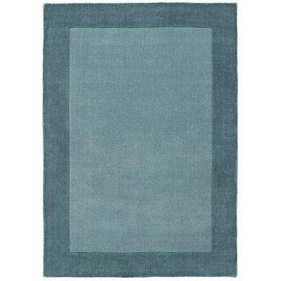 Sierra Wool Rug - 160cm-x-230cm - Blue