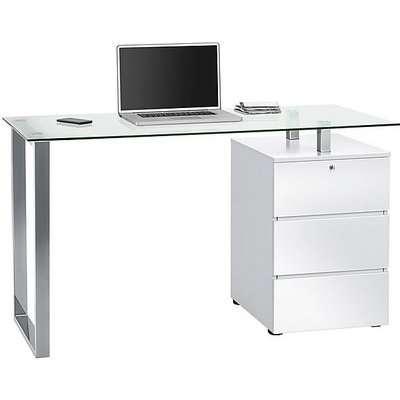 South Street 80 Computer Desk - White