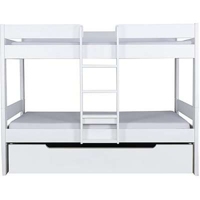 Stompa - Nexus Bunk Bed with Trundle - White