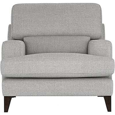 The Lounge Co. - Romilly Fabric Armchair - Silver