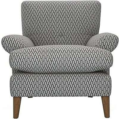 The Lounge Co. - Bronwyn Fabric Joshua Armchair - Grey