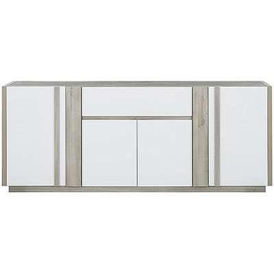 Vue 4 Door Sideboard - White