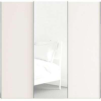Wiemann - Oxford 3 Door Sliding 225 cm Wardrobe with Mirror