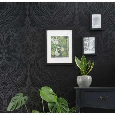 Graham & Brown Desire Black Wallpaper