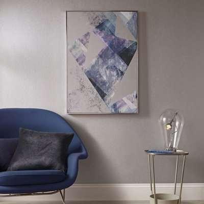 Midnight Aura Framed Canvas Wall Art
