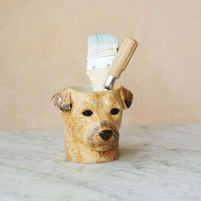 Border Terrier Pencil Pot