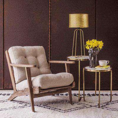 Dylan Natural Linen Armchair