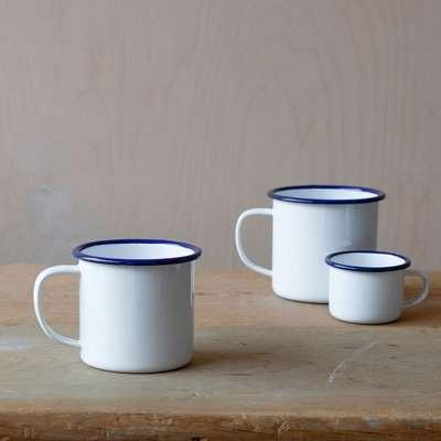 Enamelware Half Pint Mug