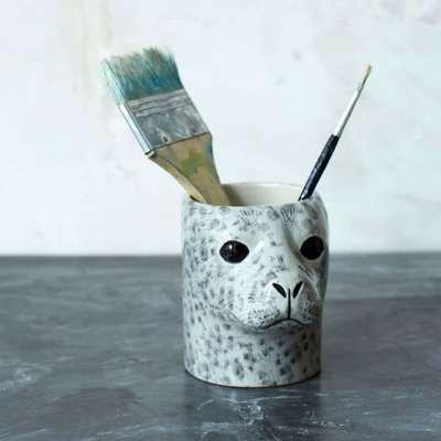 Harbour Seal Pencil Pot