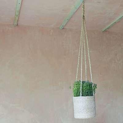 Jute Hanging Pot Holder