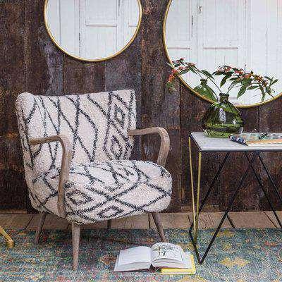 Mina Printed Armchair