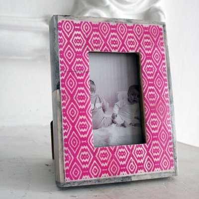 Small Pink Bone Photo Frame