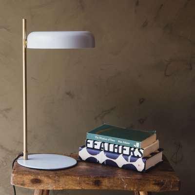 Torsten Grey Desk Lamp