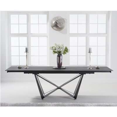 Brendan 180cm Extending Grey Stone Dining Table