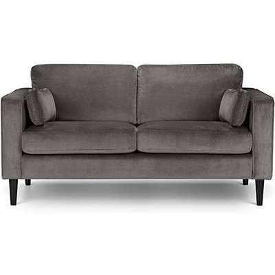 Hazel Velvet Medium 2 Seater Sofa