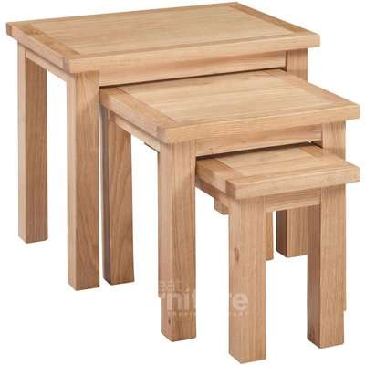 Merissa Oak Nest of Tables