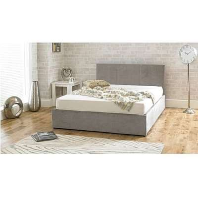 Sterling Stone Fabric Ottoman Double Bed