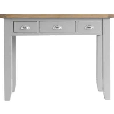William Oak and Grey Dressing Table