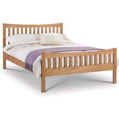 Bergamo Solid Oak Wooden Bed Frame - 5ft King Size