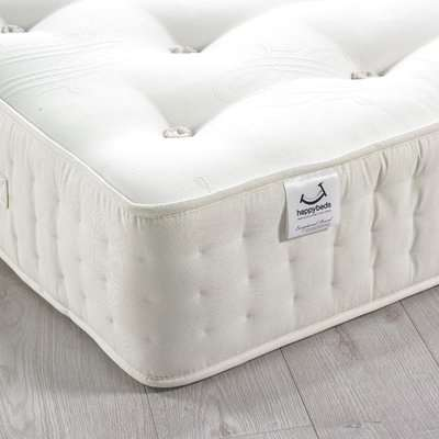 Farley 3000 Pocket Sprung Natural Fillings Mattress 4ft Small Double (120 x 190 cm)