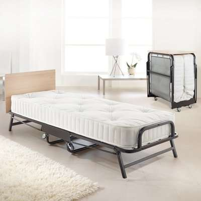 Jay-Be Crown Premier Folding Bed with Deep Sprung Mattress - 2ft6 Small Single