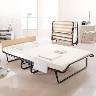 Jay-Be Jubilee Folding Bed with Rebound Mattress - 2ft6 Small Single